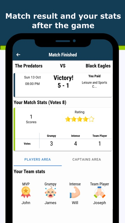 IMIN - Sport Teams Manager app