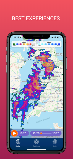 ‎PocketRadar - my weather radar Screenshot