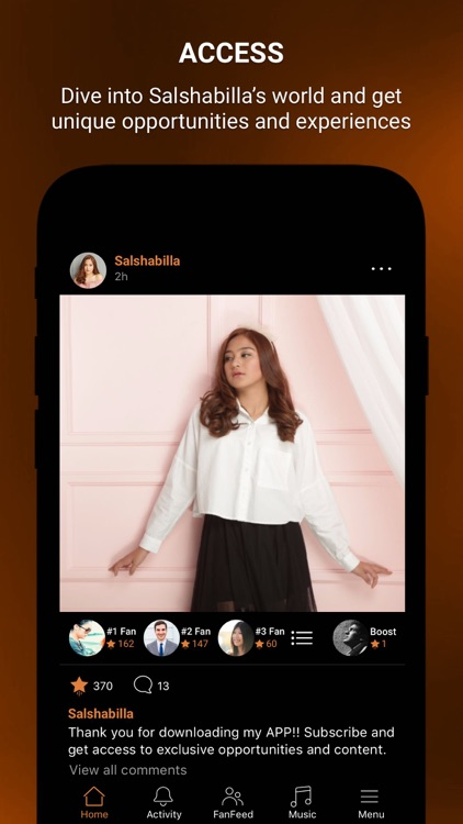 Salshabilla Official App