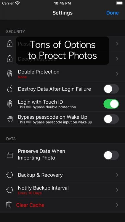 Lock Photo - Hide Photo screenshot-9