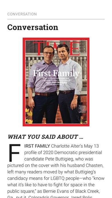 TIME Magazine Screenshot