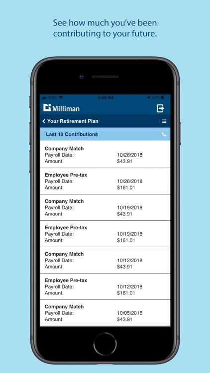 Milliman Mobile Benefits screenshot-7
