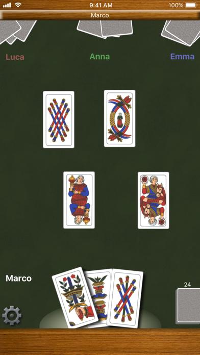 Screenshot of Scopa!5