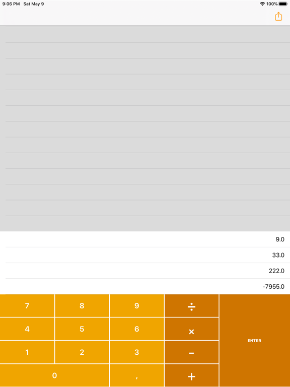 Calculadora RPN screenshot 4