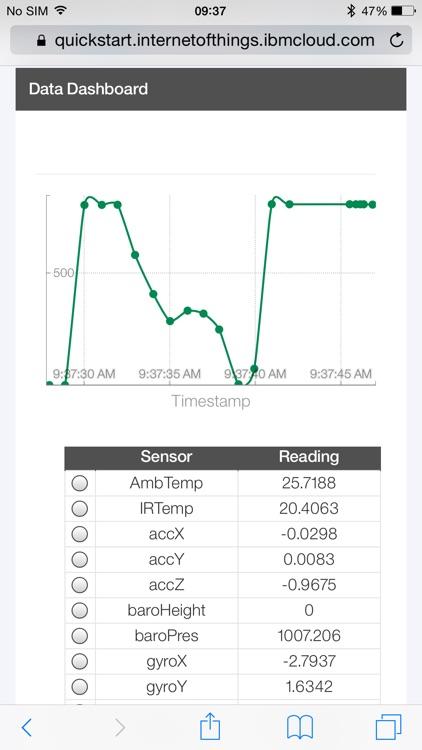 TI SensorTag screenshot-3