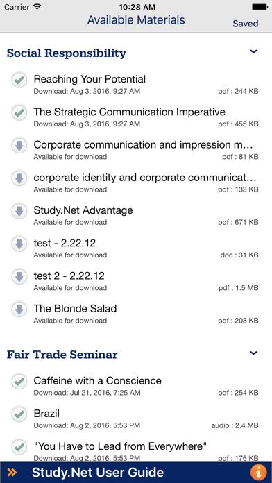 Study.Net screenshot one