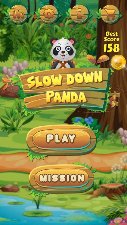 Slow Down Panda screenshot-0