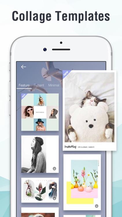 InstaMag - Photo Collage Maker screenshot-4
