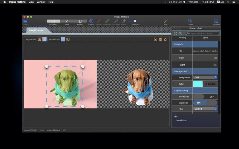Image Matting for Mac