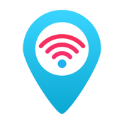 WiFi Finder Free - internet access, hotspots and passwords, WiFi map with cities and places icon
