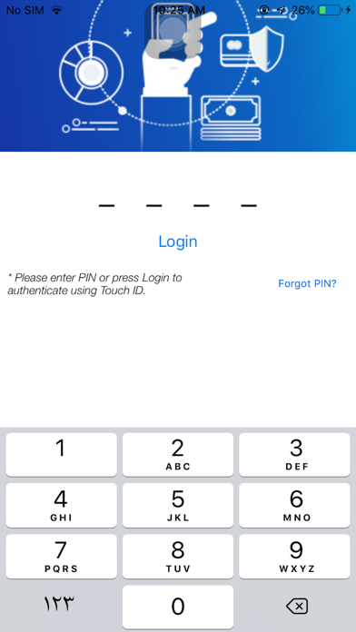 Screenshot for National Finance mServe in United States App Store
