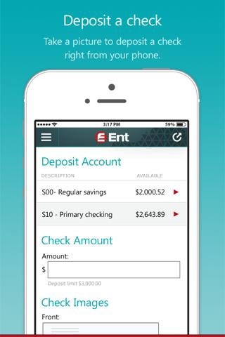 Ent Mobile Banking - náhled