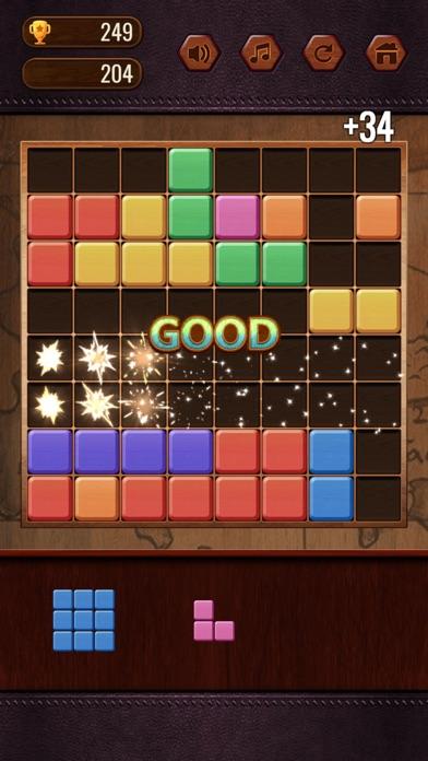 Block Puzzle - Cute Emoji screenshot 2