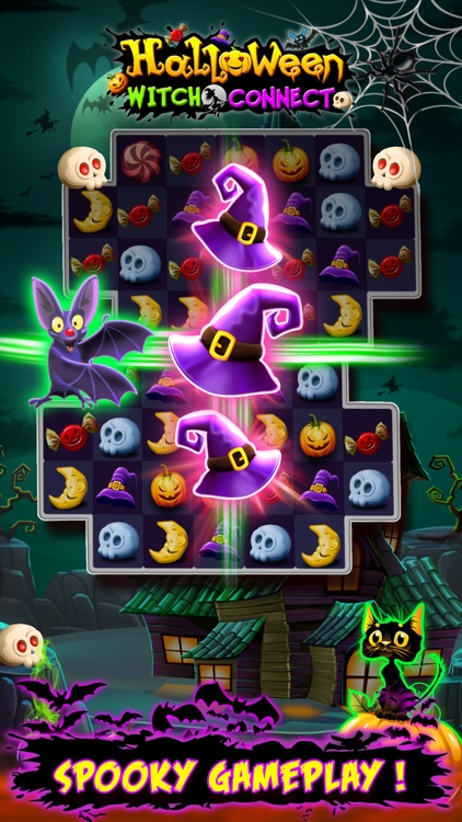 Halloween Witch Connect screenshot-3
