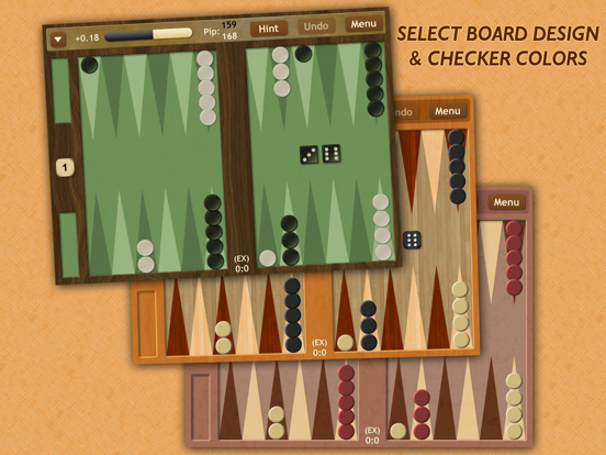 Backgammon NJ HD screenshot