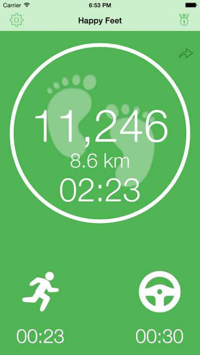 Happy Feet - Motion TrackerScreenshot von 1