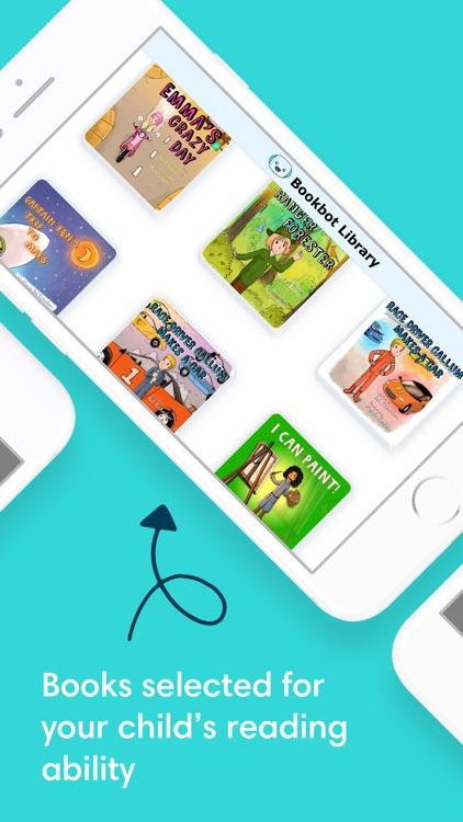 Bookbot Reading Books for Kids screenshot-3
