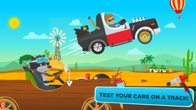 Racing Car Game for children screenshot one