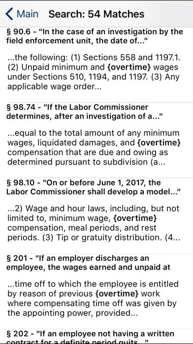 CA Labor Code 2020 screenshot two
