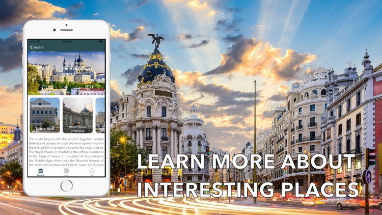 Madrid Travel Audio Guide Map
