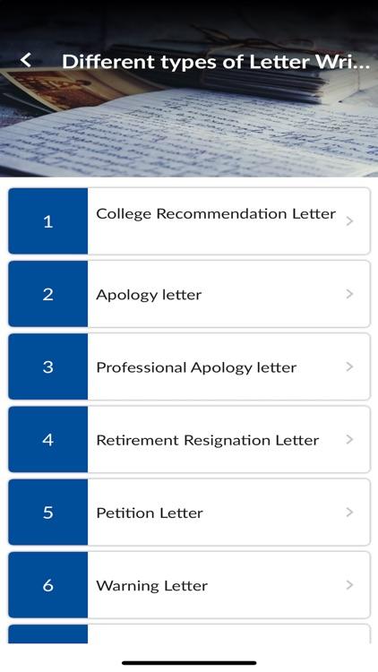 English Letter Writing Guide screenshot-5
