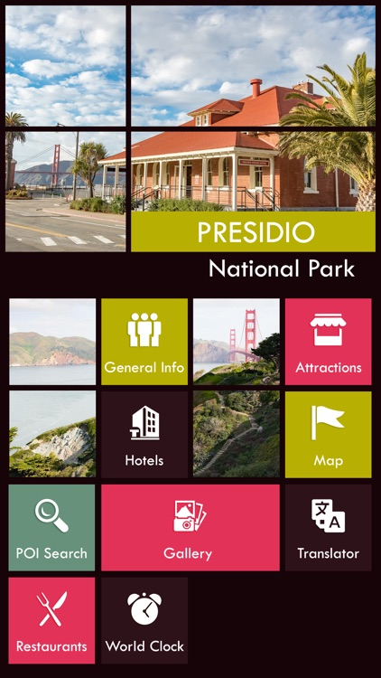 Presidio National Park Guide