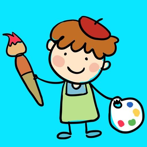 Kids' Doodle - Draw & Color