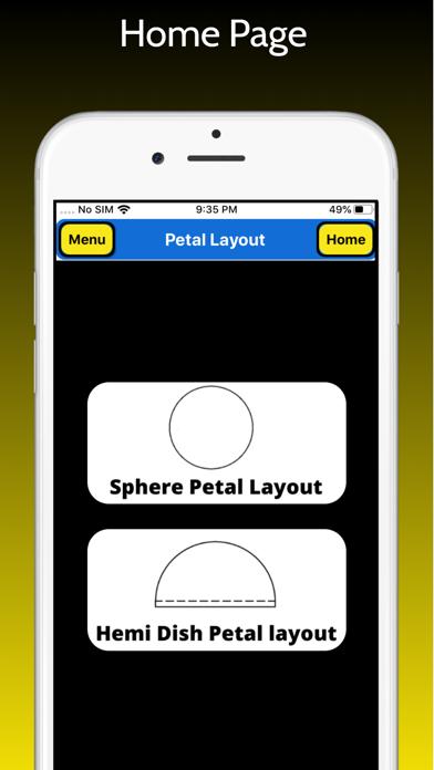 Petal Layout screenshot 1