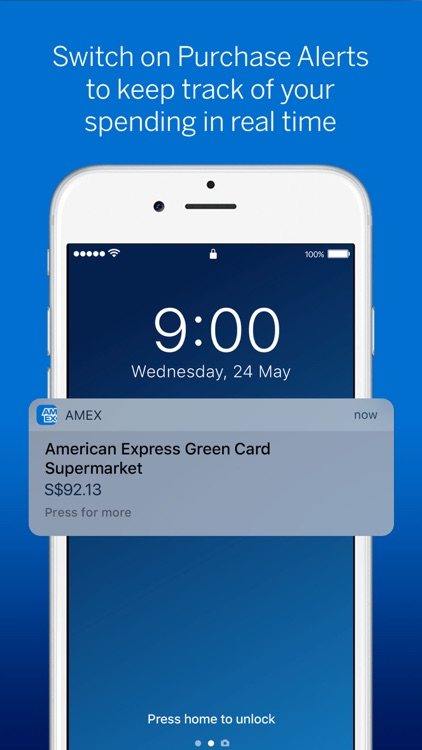 Amex Singapore screenshot-2