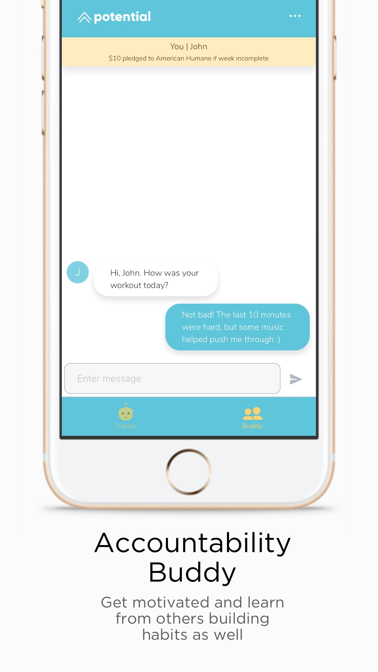 Potential - Habit Trainer Screenshot