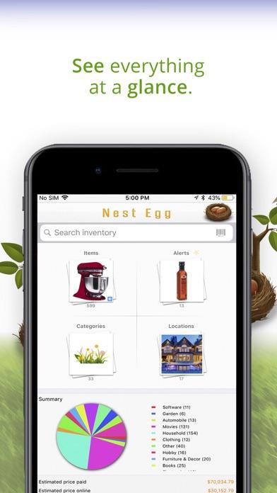 Nest Egg - Inventory Lite screenshot three