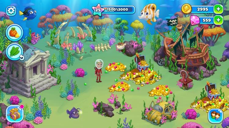 Aquarium Farm: mermaid story screenshot-4