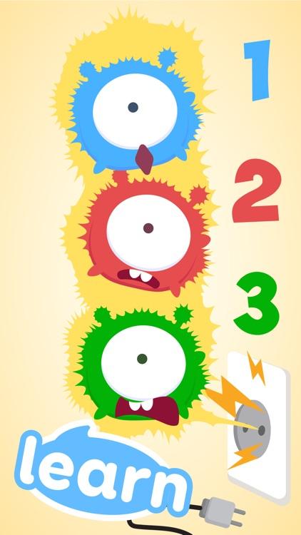 CandyBots Numbers 123 Kids Fun screenshot-3