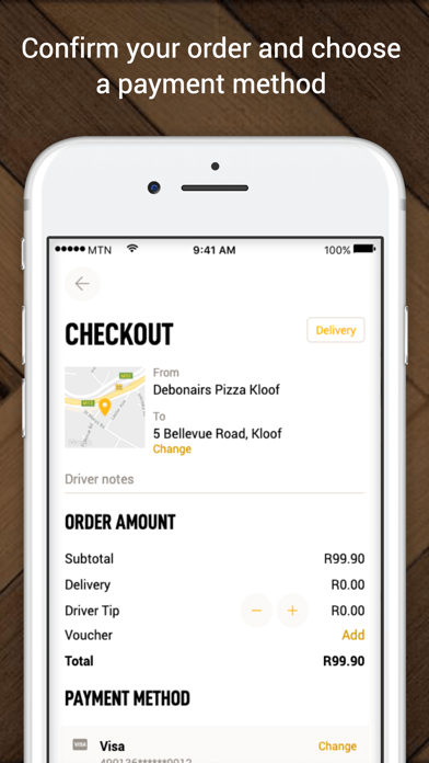 Screenshot for Debonairs Pizza South Africa in South Africa App Store