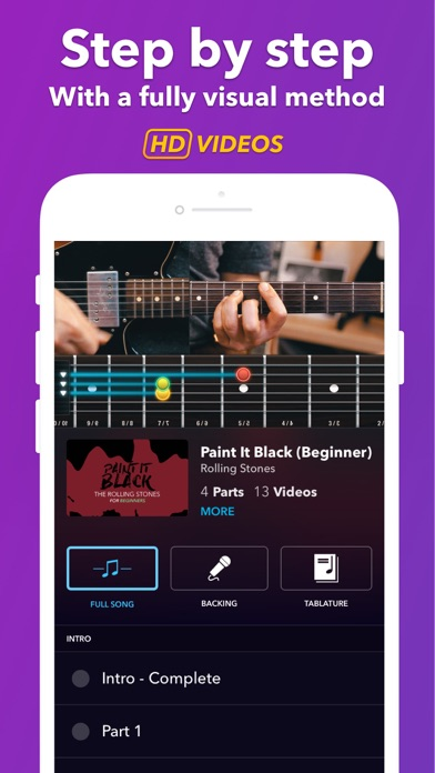 Coach Guitar Lessons Tuner Tab review screenshots