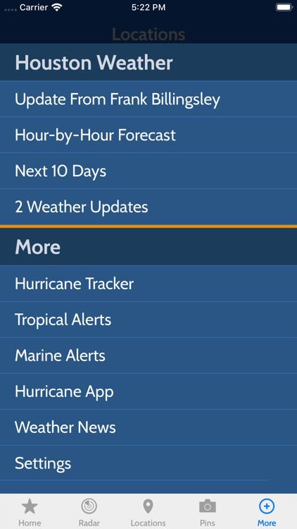 Frank's Weather Forecast screenshot-3
