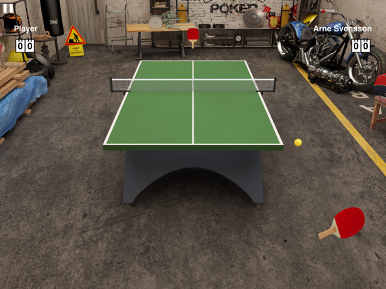Virtual Table Tennis HD screenshot one