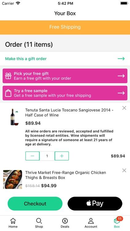 Thrive Market - shop healthy screenshot-5