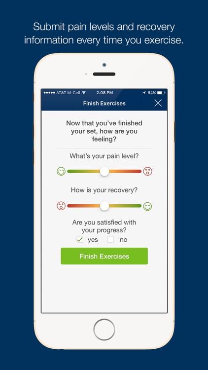 Performance Rehab Patient App screenshot-3