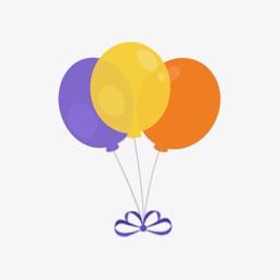 气球-砰砰砰-Emoji