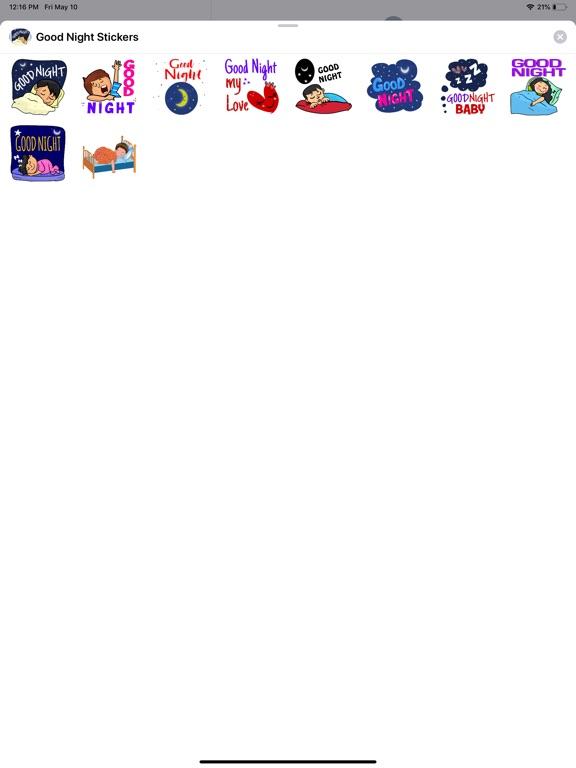 Good Night Sweet Stickers screenshot 4
