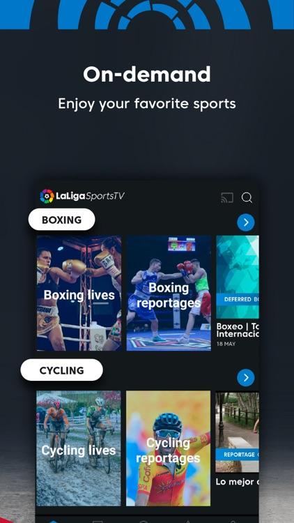LaLiga Sports TV - Live Soccer screenshot-3