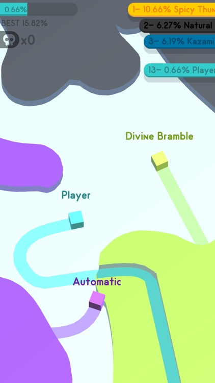 Paper.io 3D: Multiplayer screenshot-6
