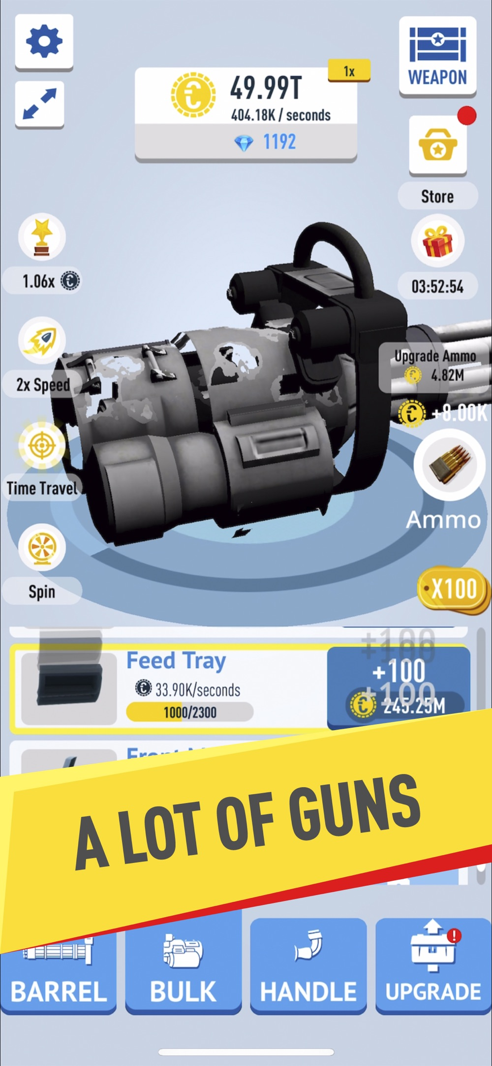 Idle Guns Factory hack tool