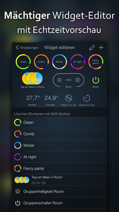 Screenshot for iConnectHue für Philips Hue in Germany App Store