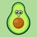 Avocado stickers for iMessage