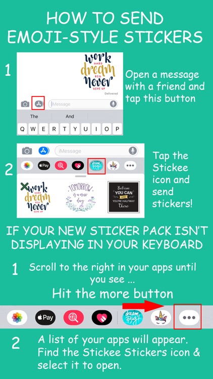 Stickee Stickers for iMessage