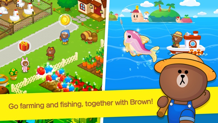 LINE BROWN FARM screenshot-0