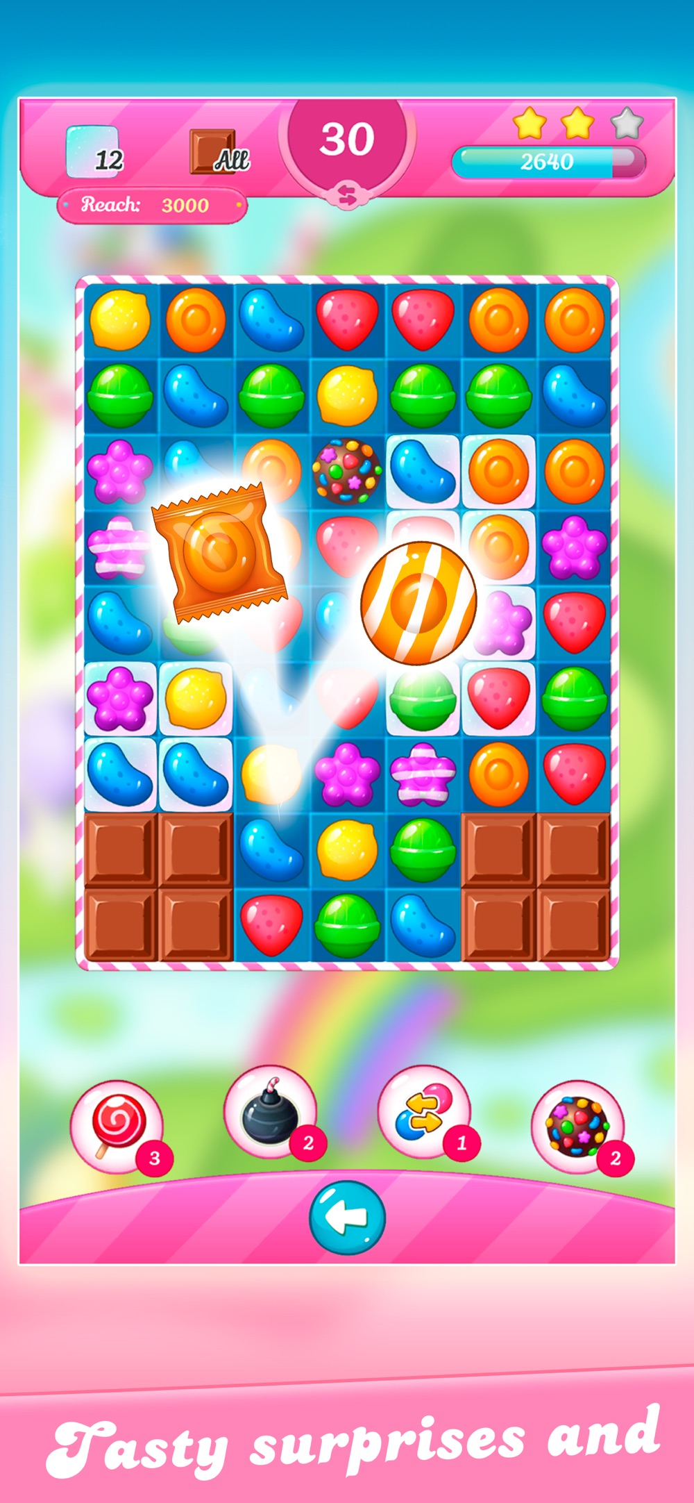 Candy Match 3: Sweet Lands hack tool