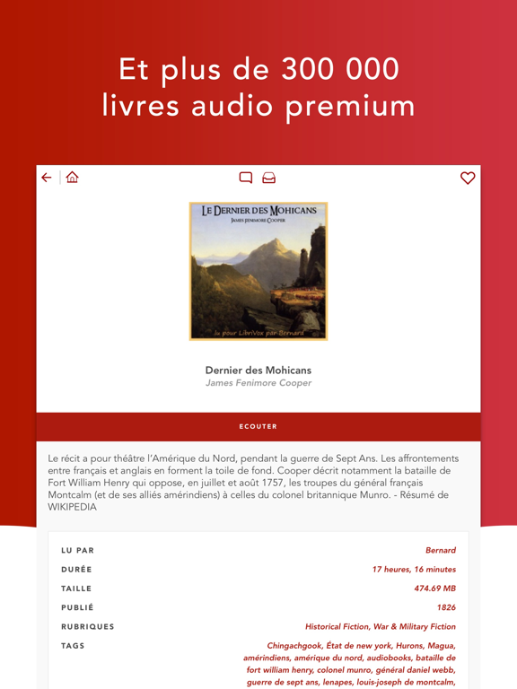 Audiobooks HQ livres audio